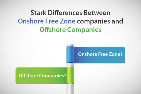 Onshore Free Zone companies and Offshore Companies business setup