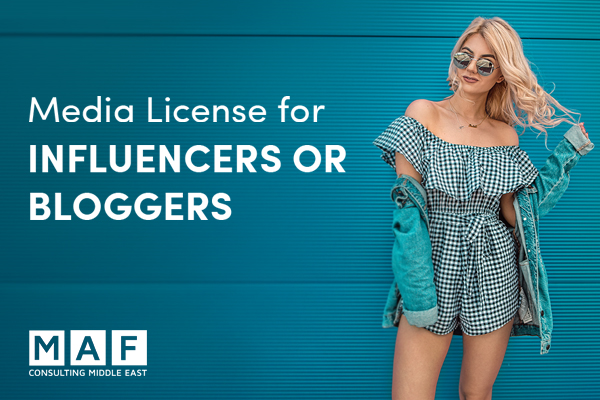 Media License for Bloggers, Influencers