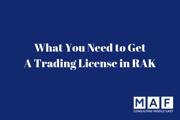 Trading License in RAK