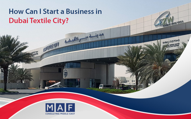 Business in Dubai Textile City