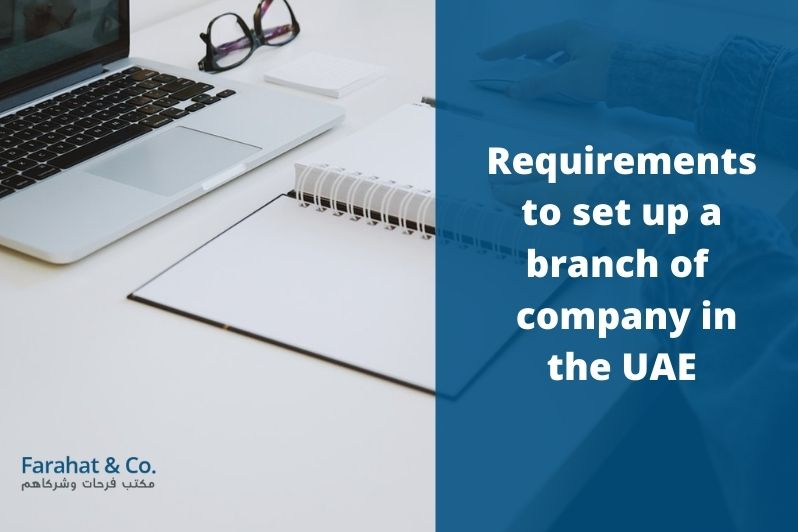 set up a branch of a company