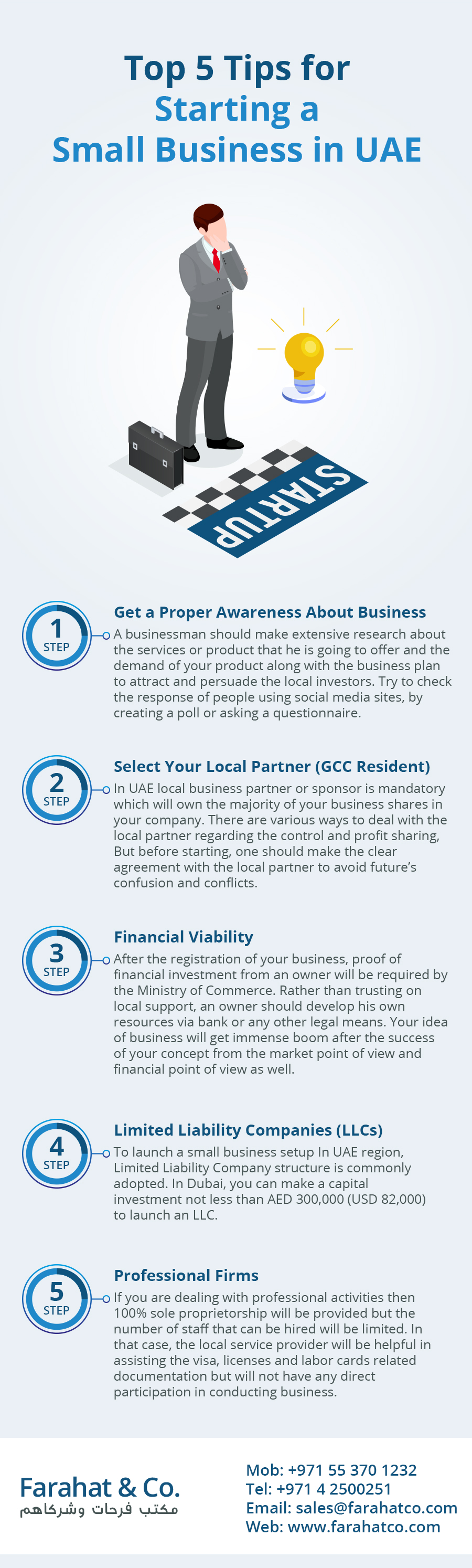 Top Tips for Starting a Small Business in UAE