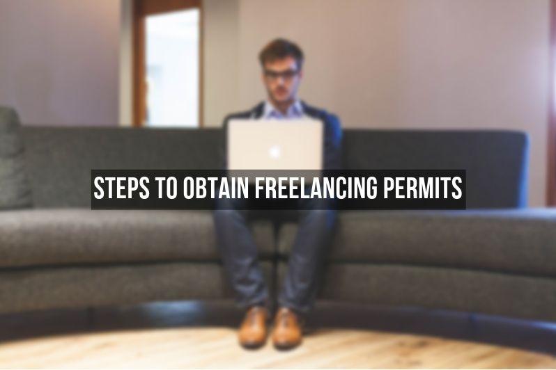 steps to obtain freelancing permits