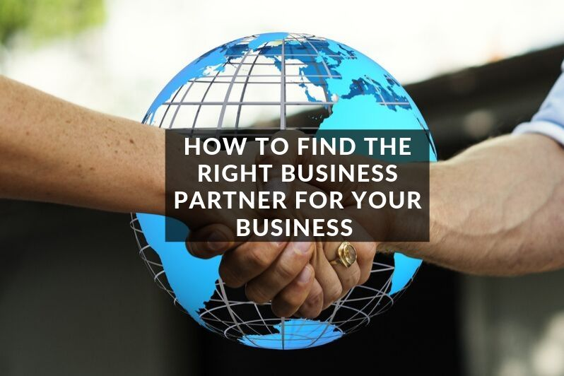 How to find the right business partner for your business
