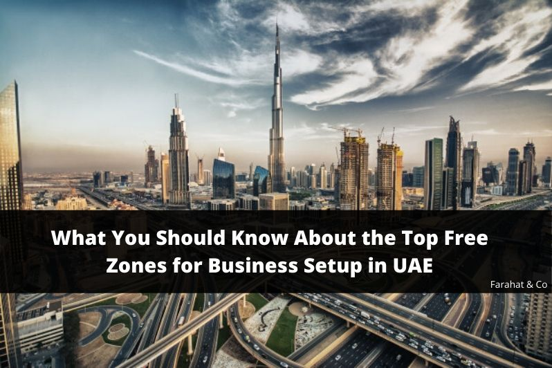 Free Zones for Business Setup in UAE
