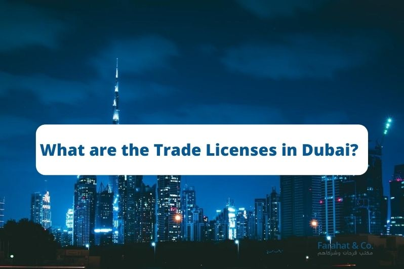 trade licenses in Dubai_