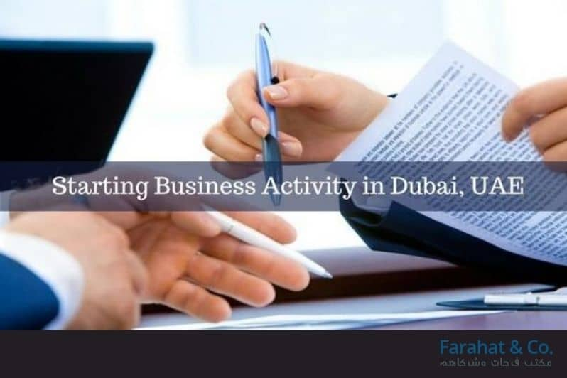 business activity in Dubai