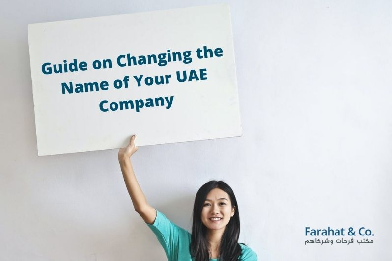 Changing the Name of Your UAE Company