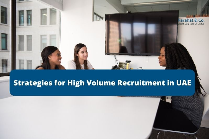 High Volume Recruitment in UAE